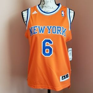 NY New York Knicks Tyson Chandler Jersey Uniform 6